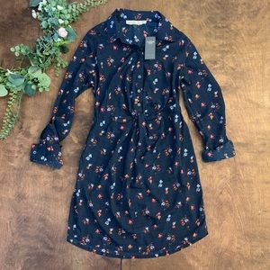 NWT Abercrombie & Fitch Collared Shirt Dress